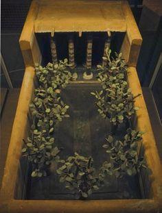 Garden model from tomb of Meketre, Upper Egypt, 1981-1975 B.C.
