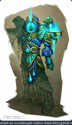 Sets Tier11 Priest by Mark Gibbons