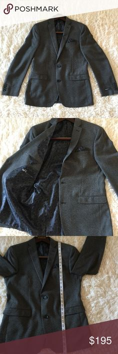 Bar III Sports Coat Blazer Jacket Bar III Blazer Sports Coat Jacket NWT some of the tags were removed. Still has one tag on. Never worn because it fit a bit tight. Very nice modern fit. Bar III Suits & Blazers Sport Coats & Blazers