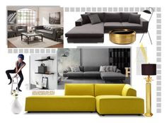 """Sofa design"" by ildiko-olsa ❤ liked on Polyvore featuring interior, interiors, interior design, home, home decor, interior decorating, Couture Lamps and Home Design Studio"