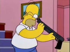 Season 5 Ep Homer the Vigilante Meme Dos Simpsons, Simpsons Party, The Simpsons, Simpsons Quotes, Cartoon Icons, Cartoon Memes, Funny Memes, Cartoons, Reaction Pictures