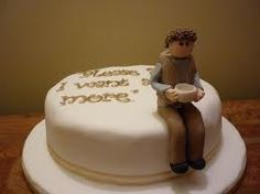 This Oliver Twist cake is a delicious representation of one of the most poignant moments in English literature.
