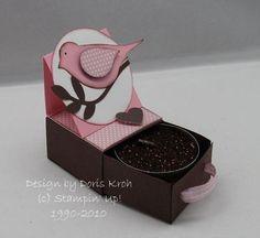 Teelicht-Schachtel offen