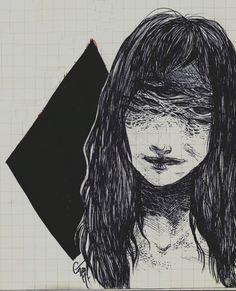 Elleir aka Gabrielle Marin (Canada) - Losange, 2014  Drawings
