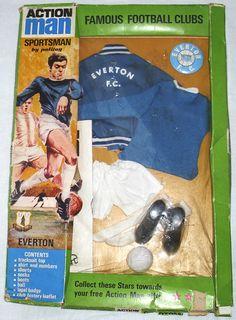 Everton Independent Research Data Retro Football, World Football, Sir Alex Ferguson, Everton Fc, Retro Toys, Toys For Girls, Action, Toffee, Liverpool