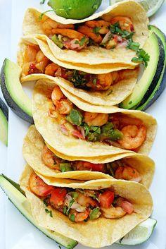 Chipotle Shrimp Tacos   Grandbaby Cakes
