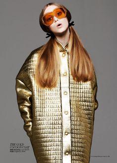 Shape Up: Stella McCartney Goes for Gold Glam