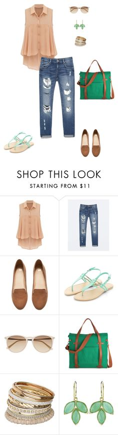 """""""AB_028"""" by timeforimage ❤ liked on Polyvore featuring Zara, H&M, Witchery, Miss Selfridge and Irene Neuwirth"""