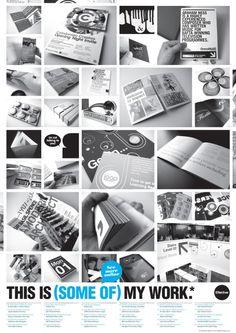 Ideas regarding portfolio layouts