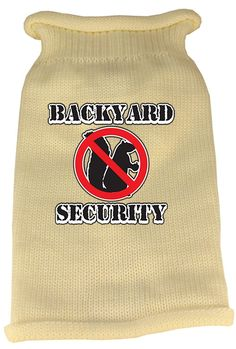 Mirage Pet Products Back Yard Security Screen Print Knit Pet Sweater >>> Check this awesome product by going to the link at the image. (This is an affiliate link) Security Screen, Pet Furniture, Pet Carriers, Dog Sweaters, Pet Collars, Pet Clothes, Pet Accessories, American Girl, Screen Printing