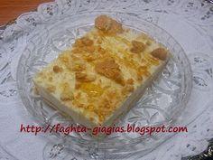 Τα φαγητά της γιαγιάς - Κρέμα γιαουρτιού με μπισκότα