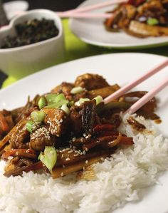 Slimming world recipes and other ramblings.: Szechuan chicken with seaweed. Slimming World Dinners, Slimming World Recipes, Diet Recipes, Cooking Recipes, Healthy Recipes, Recipies, Sea Weed Recipes, Szechuan Chicken, Health Eating