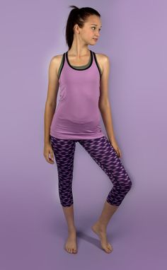 a0413b8e36172 Color your run with the Nike Relay Running Crop Capri - great range of  motion from