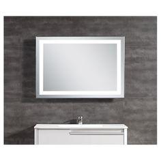 Miroir A Eclairage DEL Integre Salle De Bain Luminaire Design Luminaires Nouvelle