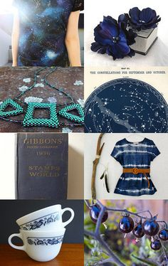 The sky at night by natalie on Etsy--Pinned with TreasuryPin.com
