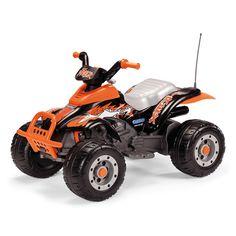 8c36b90ab1c7b Off Road 12v Peg Perego Sports Quad Bike Tractors
