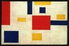 ufansius:  Composition 1917-1918 - Georges Vantongerloo