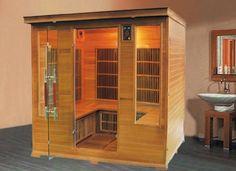 Sauna Infrarouge LUXE Club 5-6 Personnes Profitez de notre prix exceptionnel de 2919€ sur lekingstore.com Contactez nous au 01.43.75.15.90