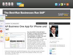 Mobile App für SAP Business One