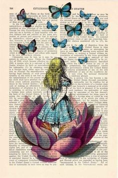 Inspire The Mind .... Alice in wonderland drawing @Hilary S S Wickenhauser it…
