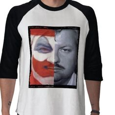 Love this shirt...would never wear a serial killer...but I like the symbolism.