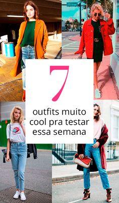 7 looks lindos para se inspirar!