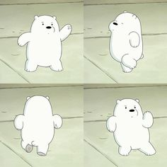 Tag someone who can dance like Ice Bear