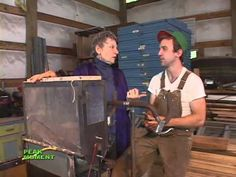 """Interview and demos from a pedal-powered (""""bicycle-powered"""") machine expert - all sorts of uses"""