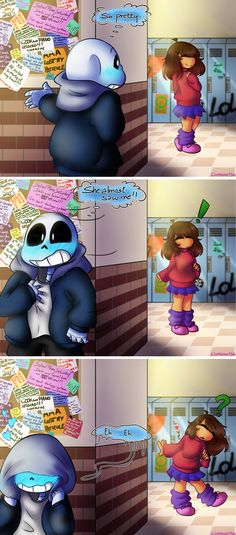 Yeah. So dis guy ovah hea >> got me into undertale lately and I wanted to make a comic. Sans is my favorite, just like everyone else. Thought I could be a little humorous and creative w...