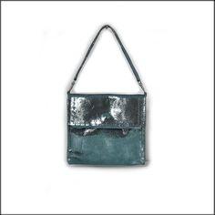 Petit sac pochette en cuir, pochette femme soirée, pochette cuir argentée  Pochette Femme Soirée 47d40ec18ac