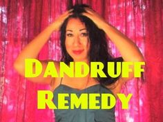 How to get rid of Dandruff Overnight, Fast, Naturally, Permanently at Home Remedies - YouTube