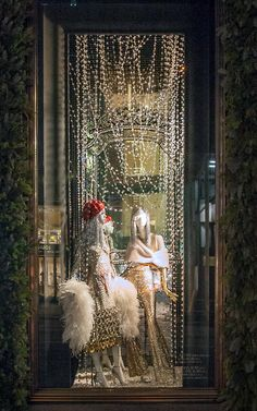 Bergdorf Goodman New York Christmas Windows 2015