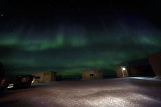 The aurora borealis lights up the night sky over the Applied Physics Laboratory Ice Station in the Beaufort Sea March 21, 2009, during ICEX 2009 090321-N-FI224-009.jpg