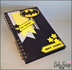 Beky Scrap: Bloc de notas personalizado Diy Notebook Cover, Cool Office Supplies, Diy School Supplies, Homemade Birthday Cards, Diy Birthday, Cover Page For Project, Scrapbook Cover, Mini Albums, Decorate Notebook