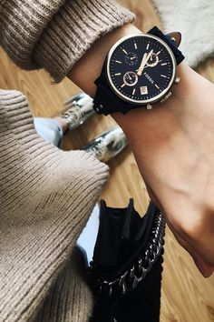 Our favorite classic style, the Original Boyfriend watch. via @ inspirantgirl