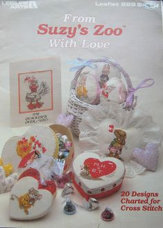 From Suzys Zoo With Love Charted Cross Stitch by TheHowlingHag, $8.95