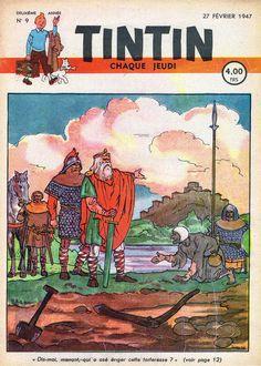 Le Journal de Tintin - Edition Belge - N° 23 - 1947-09 - Jeudi 27 Février 1947 - Couverture : Jacques Laudy