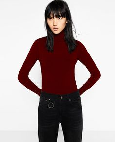 ZARA - WOMAN - TURTLE NECK SWEATER