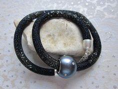 """Halskette """"Flashligt"""" von Perlenfieber auf DaWanda.com"""