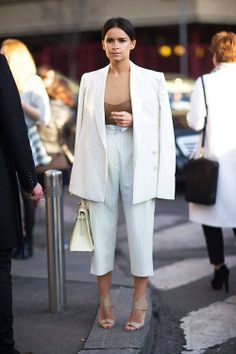 Miroslava Dumaat Milan fashion week