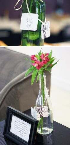 Repurpose wine bottl