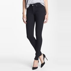 Rank & Style Top Ten Lists | 7 For All Mankind Slim Illusion Skinny Jeans #rankandstyle