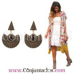 Pendientes Quena ★ 12'95 € en https://www.conjuntados.com/es/pendientes/pendientes-largos/pendientes-de-estilo-etnico-quena.html ★ #pendientes #earrings #conjuntados #conjuntada #joyitas #lowcost #jewelry #bisutería #bijoux #accesorios #complementos #moda #eventos #bodas #invitadaperfecta #perfectguest #party #fashion #outfit #estilo #style #streetstyle #GustosParaTodas #ParaTodosLosGustos