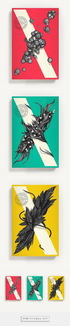 Southern Reach Trilogy on Behance - created via https://pinthemall.net