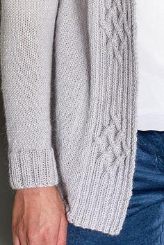 Knitting Stiches, Cable Knitting, Free Knitting, Knitting Patterns, Knitwear Fashion, Knit Fashion, Knit Vest Pattern, Knit Art, Flirt