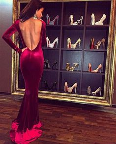 Awesome Mermaid Prom Dresses design ideas for modern stylish  women  (21)
