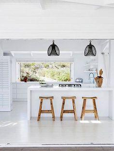 Modern South African Beach House   lark & linen