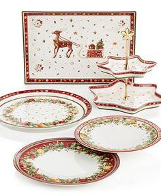 Villeroy & Boch Winter Bakery Dinnerware Collection