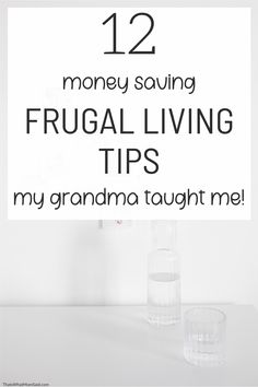 My grandma taught me everything I know about frugal living on a budget. She really knew all the best money saving tricks. You can see how easy frugal living can be with these simple old fashioned money saving tips! #frugality #frugalliving