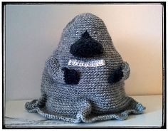 The Groke from the Moomin (Buka) free crochet pattern